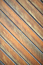 Wooden diagonal plank background Stock Image