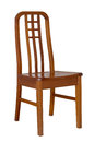 Wooden dining chair Royalty Free Stock Photos