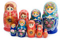 Wooden doll Royalty Free Stock Photo