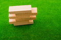 Wooden dominos Royalty Free Stock Photo