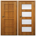 Wooden door 05 Royalty Free Stock Images