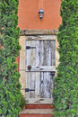 Wooden door. Royalty Free Stock Image