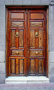 Wooden door Stock Photos