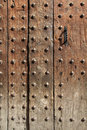 Wooden door background Royalty Free Stock Images
