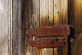 Wooden Door With Hinge