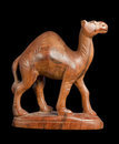 Wooden dromedary Royalty Free Stock Photos