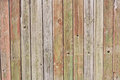 Wooden fence panels Stock Image