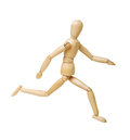 Wooden figure Stock Photos