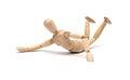 Wooden Figure Mannequin Fallin...