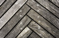 Wooden floor exterior old texture Stock Images