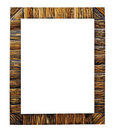 Wooden frame. Stock Photo