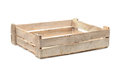 Wooden fruit crate Royalty Free Stock Photo
