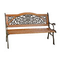 Wooden Garden Bench Royalty Free Stock Photo