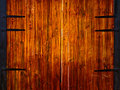 Wooden Gates Royalty Free Stock Photos