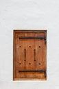 Wooden Hatch Window In A Histo...