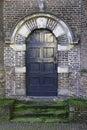 Wooden historic door Royalty Free Stock Photo