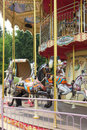 Wooden Horses On French Carousel