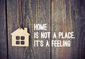 Wooden House As Symbol Quote
