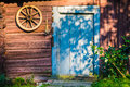 Wooden house detail Royalty Free Stock Photo