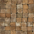 Wooden Lath Texture Stock Photography