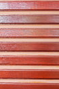 Wooden lath wall Stock Images