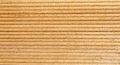 Wooden light brown grooves panel closeup Royalty Free Stock Photos