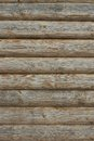 Wooden Log Cabin Old Wall Natural Colored Vertical Background Te Royalty Free Stock Photo