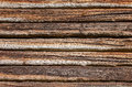 Wooden logs wall of old house background rural Royalty Free Stock Photo