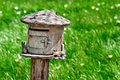 Wooden mailbox Royalty Free Stock Photo
