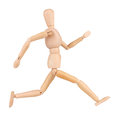 Wooden man Royalty Free Stock Photo
