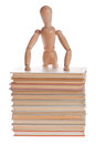 Wooden mannequin man from Ikea gestalta. Royalty Free Stock Photo