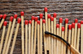 Wooden Matchsticks