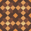 Wooden mosaic realistic textured background seamless pattern Stock Photography