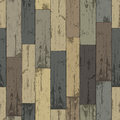 Wooden multi-color planks. Royalty Free Stock Photography