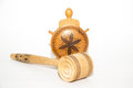 Wooden objects traditional used in rural households Stock Photography