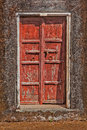 Wooden old door vintage background texture Royalty Free Stock Photos