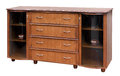 Wooden old stile bureau Royalty Free Stock Photo