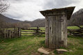 Wooden Outhouse In The Smoky M...
