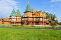 The wooden palace kolomenskoye estate of tsar aleksey mikhailovitch moscow russia Stock Photo