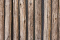 Wooden palisade background texture in Royalty Free Stock Images