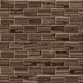 Wooden paneling for seamless background dark brown surface Royalty Free Stock Photos