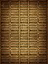 Wooden parquet brown floor background Stock Photography