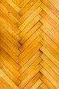 Wooden parquet floor background herringbone pattern Stock Image