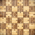 Wooden parquet puzzles d image Stock Photos