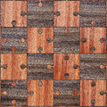 Wooden parquet puzzles d image Royalty Free Stock Images