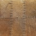 Wooden patches with stitches background texture close up shot Stock Photos