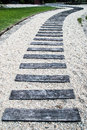Wooden path walkway Royalty Free Stock Photos