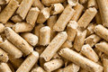 Wooden pellet .ecological heating Royalty Free Stock Photos