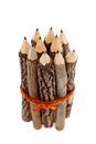 Wooden pencils Stock Images