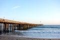 Wooden Pier in Ventura, CA Royalty Free Stock Photo